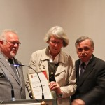 Vorsitzende Rosemarie Hollenbach, Hans Hippler, Präsident H.U.Rauchfuß