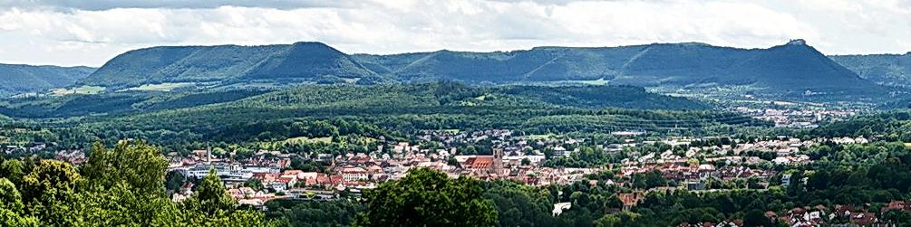 Panorama Oberensinger Höhe